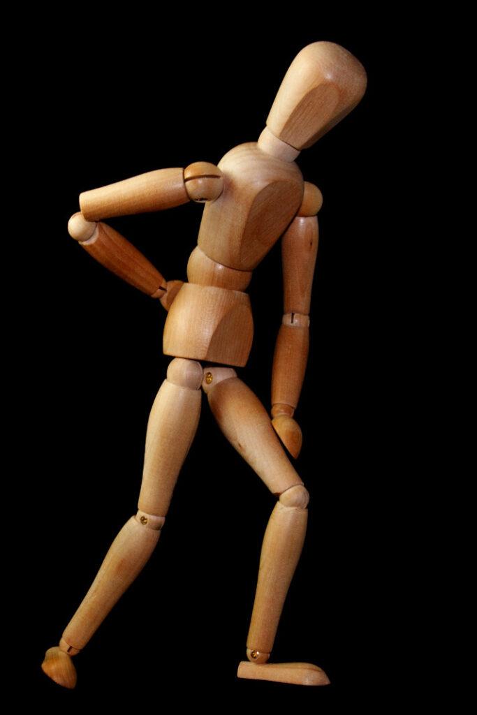 manichino-in-legno-fisioterapia-nervo-sciatico